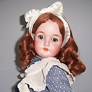 "26"" Queen Louise Antique German Bisque Head Doll by Armand Marseille. Display Ready."