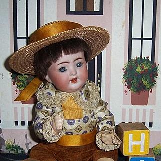 K*R 10 inch Character Baby Doll. Kammer Reinhardt Simon Halbig Mold 126. Display Ready