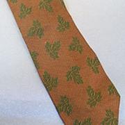 GIORGIO ARMANI  Pink Wine Navy Bias Batik Print Silk Tie