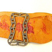 Hand Painted Figural Belt