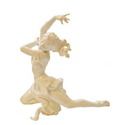 Large Ultra Rare HUTSCHENREUTHER SELB LHS Posing Dancer Figurine-Pristine