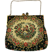 WALBORG French Tapestry Purse