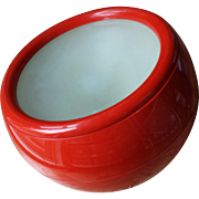 Artemide Studio Red Lamp Ball Italy 1968 Design Tetrarch 1968 Pallade MCM Modern