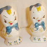 Salty Spring Baby Chic Salt and Pepper Shakers