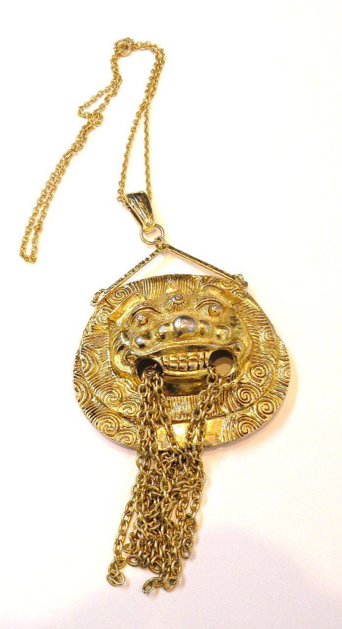 Strange Mythological Monster Pendant Necklace