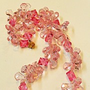 Pink Plastic Fantastic Primrose and Pastel Pop Art Necklace