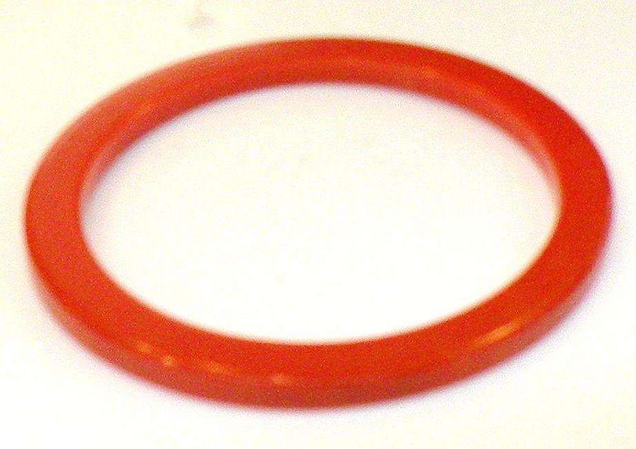 BAKELITE Orange Red Spacer Bracelet
