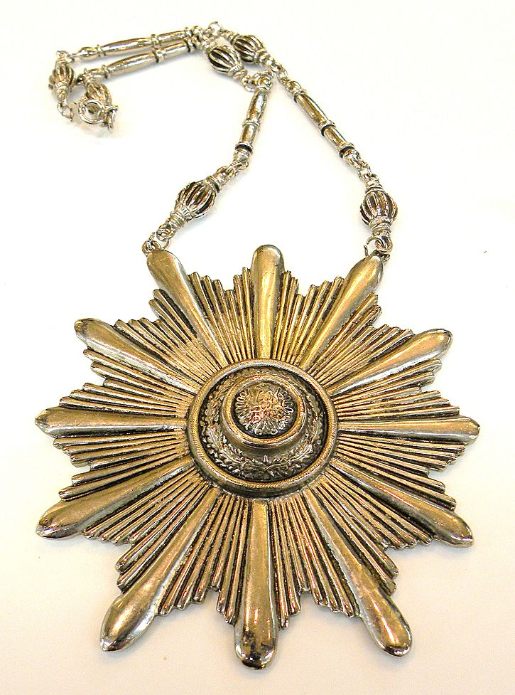 ACCESSOCRAFT NYC Giant Starburst Pendant Necklace