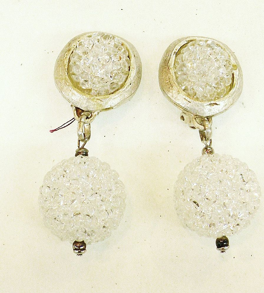 REMYDIS PARIS Rock Candy Drop Disco Ball Matte Finish Earrings