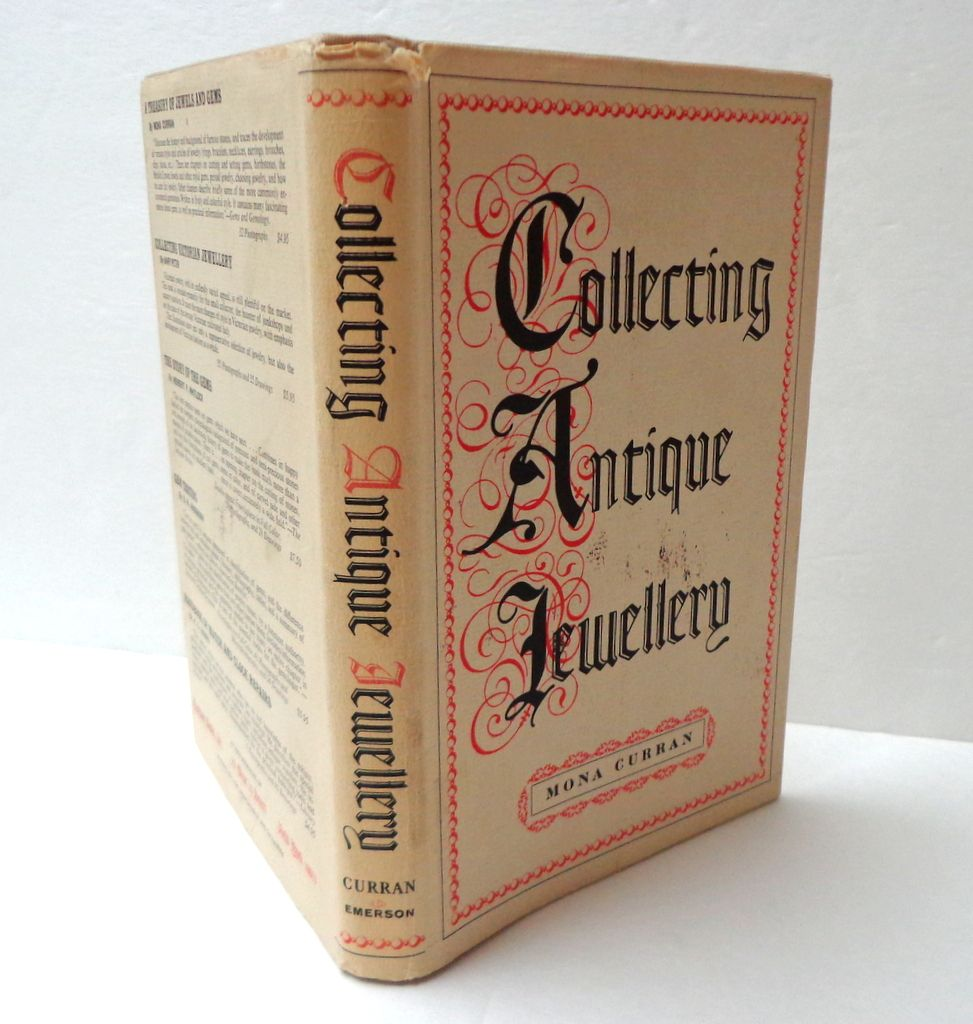 Collecting Antique Jewellery. Curran.  Georgian, Victorian & Edwardian. Excellent learning and reference.  Mint Condition.