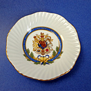 1981 Commemorative Bone China Plate. Royal Wedding.  Charles & Diana.  As New Condition.