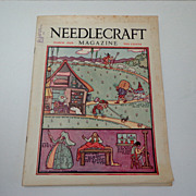 Needlecraft Magazine.  March 1929.  Wonderful ads & patterns.  Near Fine Condition.