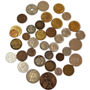 Foreign Coins.  Out of Circulation.  English. Egyptian.  Norway & More.