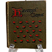 Havergal Gems. C. 1920.  Gorgeous Illustrations.  Miniature Size.  Very Scarce.