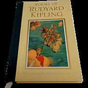 Poems of Rudyard Kipling.  Illustrator W. HEATH ROBINSON.  Lovely Edition.