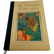 Poems of Rudyard Kipling.  Illustrator W. HEATH ROBINSON.  Lovely Edition.