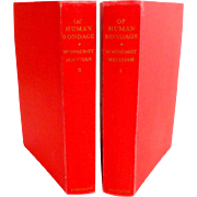 OF HUMAN BONDAGE by Somerset Maugham. Pub. by Heinemann 1951.  2 Vols.  Near Fine Condition.