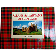 Clans and Tartans of Scotland by Iain Zaczek.  Beautifully Illustrated.  As New Condition.