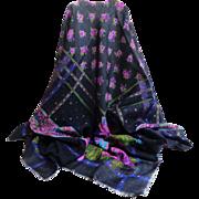FABIO FERRETTI 100% Wool.  Made in Italy.  Shawl / Scarf / Pashmina.  Large.  Elegant.