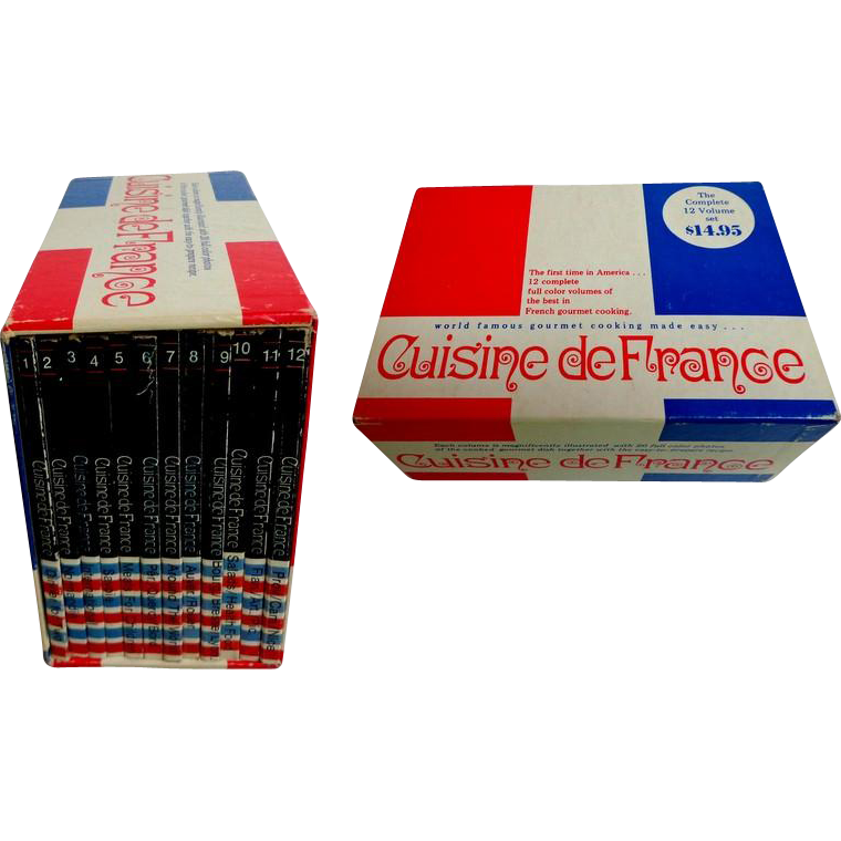 Cuisine de france 12 vols cased english 1971 - Cuisine de babette france o ...