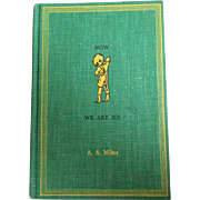 Now We Are Six by A. A. Milne.  Illustrated by E. H. Shepard.  Mint Condition.