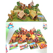 The Fairytale Village.  Pop-Up Playset.  Pub. 1998.  Incredible!  As New Condition.