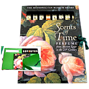 SCENTS OF TIME / Perfume. 1st Edition 1999.  With 8  Vials of Fragrances.  Unopened. As New Condition.