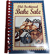 Old-Fashioned Bake Sale.  Illustrated Ring Binder.  Delicious.  As New Condition.