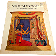 NEEDLECRAFT Magazine. JUNE 1929. Wonderful ads & patterns. Near Fine Condition.