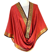 Pashmina / Shawl.  Rose and Gold.  Extra Large.  Super Gorgeous.  As New Condition.