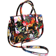 MADDEN GIRL Cross Body Purse.  All Over Florals.  As New with Tag.