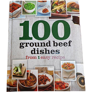 100 Ground Beef Dishes from 1 easy recipe.  As New Condition.