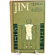 JIM by JJ Bell.  Published 1911.  Charming Binding.  V. Good Condition.