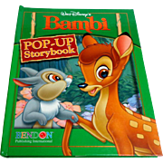 WALT DISNEY'S BAMBI Pop-Up Storybook. Pub. 2006.  Mint Condition.