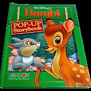 WALT DISNEY'S BAMBI Pop-Up Storybook. Pub. 2006.  Mint Condition.