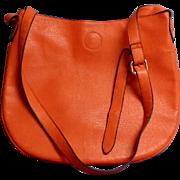 Purse. Crossbody  / Cross Body Tote Style.  Orange.  As New Condition.