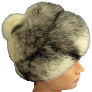 LILLY DACHE Debs Mink Fur Hat.  Absolutely Gorgeous.  Mint Condition.