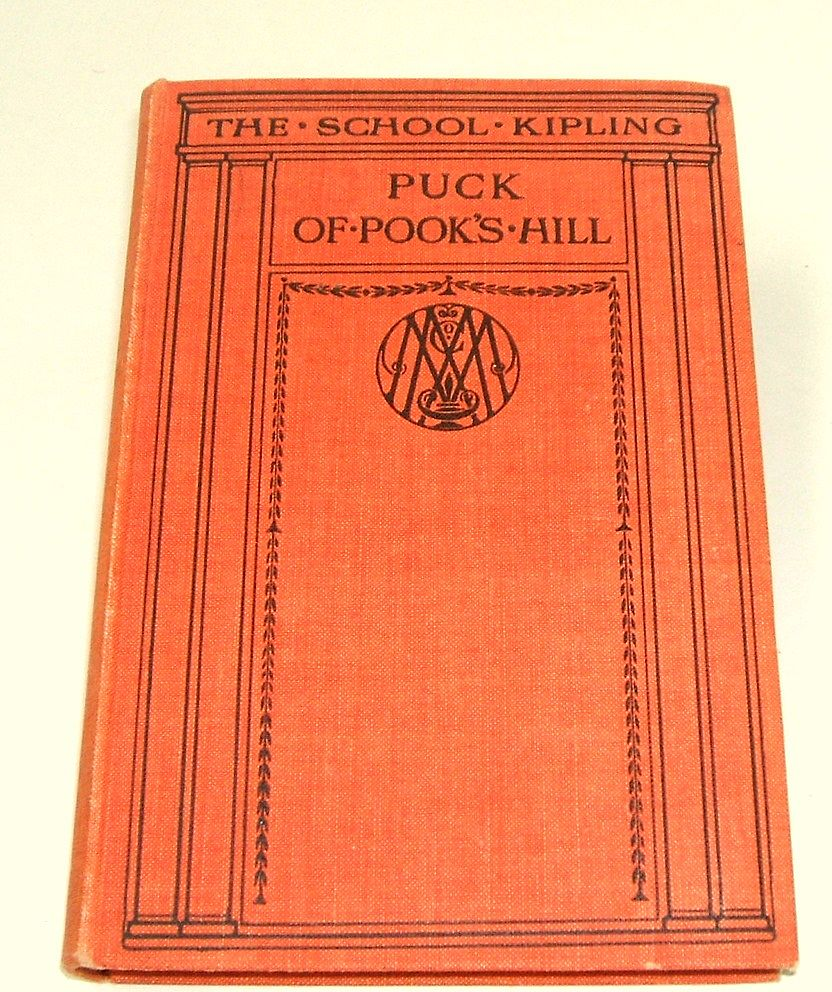 PUCK OF POOK'S HILL.  Kipling's Children's Classic.  1931!  Mint condition! Millar Illustrated.