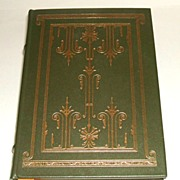 The Alcestiad by Thornton Wilder.  Full, genuine leather binding with gilt & ribbon marker.  Franklin Library, 1977.  As New condition.