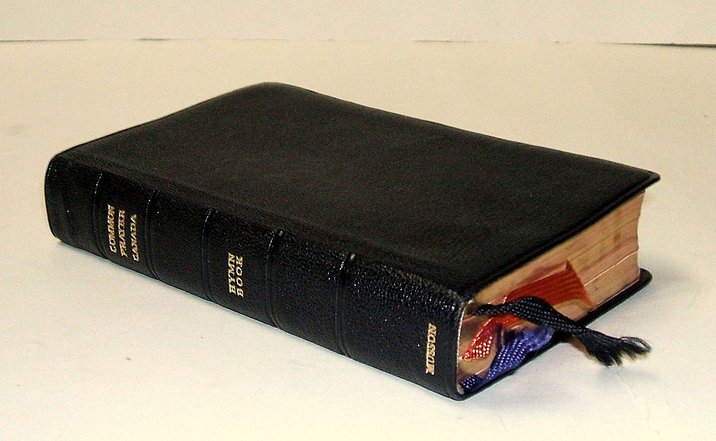 Book of COMMON PRAYER + Hymn Book. Canada.  Genuine Morocco leather! All gilt edges.  Mint condition.