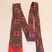 "100% Silk Tie.  Louis Simard Paris.  2 ¾"" wide.  Perfect condition."