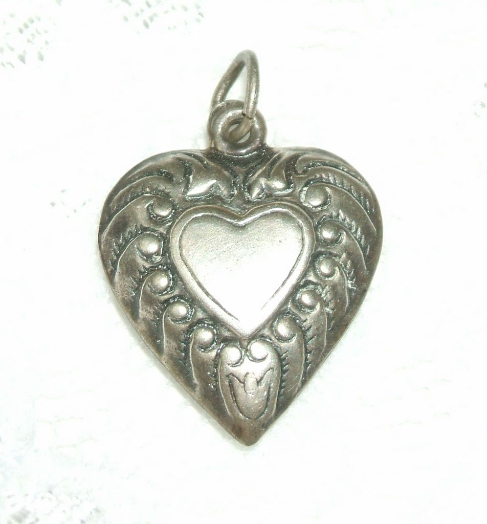 Puffy Heart with Heart.  For Valentine's Day!  Perfect condition.