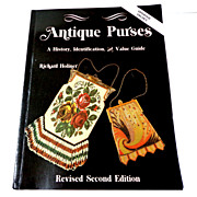 Antique Purses.  History, ID & Values.  Gorgeous illust.  Mint condition.