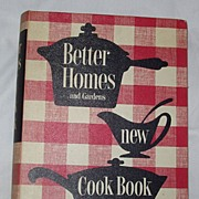 1953 Edition Third Printing Better Homes Garden New Cookbook
