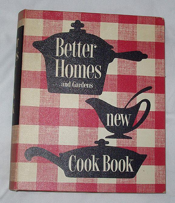 1953 Edition Third Printing Better Homes Garden New Cookbook