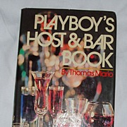 Playboy's Host and Bar Book Hardcover 1971