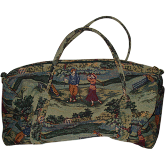 Nicely Done Holdings Golf Duffle Bag Accessory Tapestry Overnight
