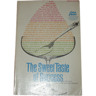The Sweet Taste of Success Cookbook Soft Cover Ceil Dyer Famous Peoples' Recipes