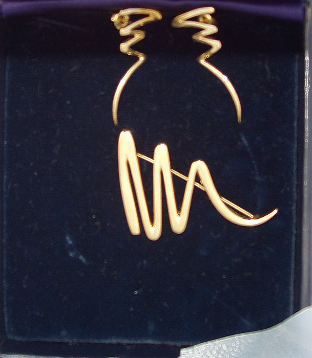 Original Box Set Scribble Pin Tiffany Co Palamo Picasso Signed