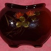 Weller Louwelsa Pillow Vase Ca 1896-1924 Book piece Art Pottery